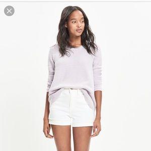 Madewell Riverside Textured Sweater XS EUC